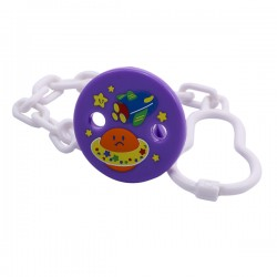 FIFFY Pacifier Safety Chain with Clip - 1848