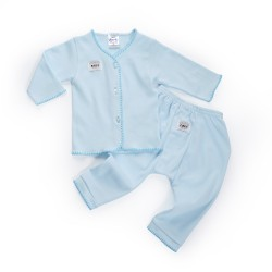 FIFFY Long Sleeve Vest Suit(Newborn)-65279