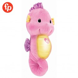 Fisher Price Soothe and Glow Seahorse Pink Soothing Music Toys