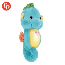 Fisher Price Soothe and Glow Seahorse Blue Soothing Music and Sounds Electronics Toy