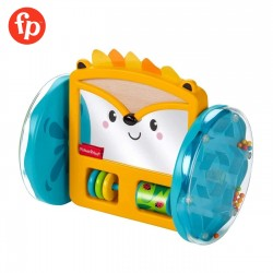 Fisher Price Play and Crawl Hedgehog Mirror Tummy Time and Crawling Toy