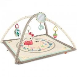 Fisher Price Sanrio Baby Musical Gym with Hello Kitty Plush