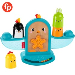 Fisher Price Stack and Rattle Birdie
