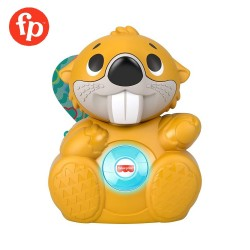 Fisher Price Linkimals Boppin Beaver Light-up Musical Activity Toy