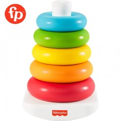 Fisher Price Infant Eco Rock-a-Stack Made from Plant-Based Materials