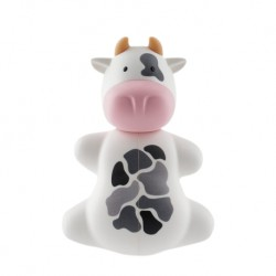Flipper Toothbrush Cover (Fun Animal Cow)