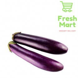 Fresh Vegetable Long Eggplant / Terung Panjang 500g