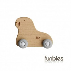 Funbies Wood Wheelie Animal (Walrus)