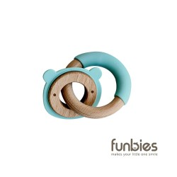 Funbies Critter + Teething Ring (Icypole)