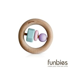 Funbies Timber + Bead O Teether