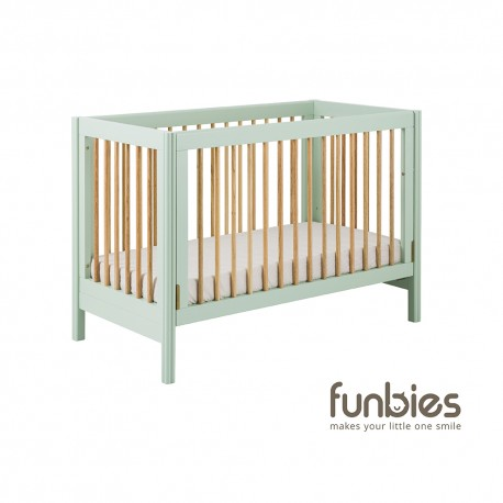 Funbies Clover Baby Cot (Soft Green)