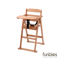Funbies Zoey Foldable Baby High Chair