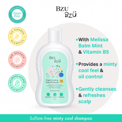 Bzu Bzu Fresh Cooling Kids Shampoo 200ml