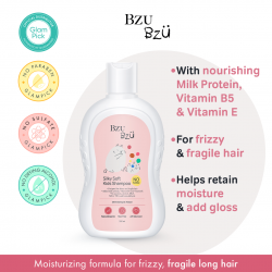 Bzu Bzu Silky Soft Kids Shampoo 200ml