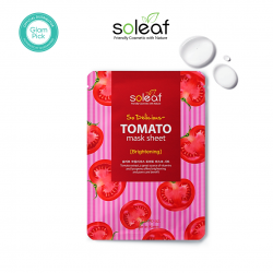 Soleaf So Delicious Tomato Mask Sheet 25g
