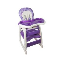 Hugo Baby Exclusive Mamakids 2 In 1 Baby High Chair (Violet)