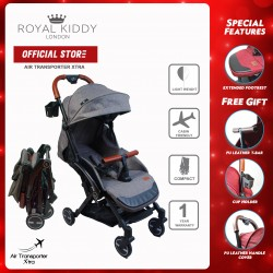 Royal Kiddy London Air Transporter Xtra Grey (Light Weight Stroller)
