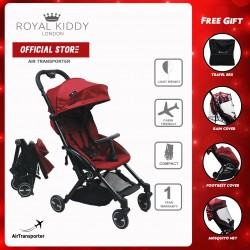 Royal Kiddy London The Air Transporter Stroller (Red)