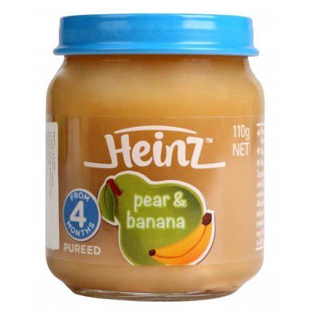 Heinz Mixed Pear & Banana Puree