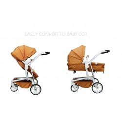 Royal Kiddy London MAJESTIC Strolller (Brown)