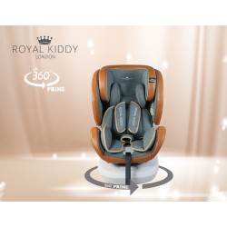 Royal Kiddy London 360 PRIME Carseat (Brown)