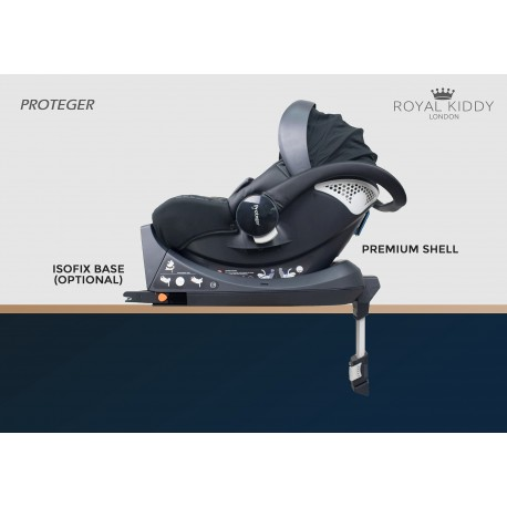 Royal Kiddy London Proteger Infant Car Seat with ISOFIX Based