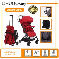 Hugo Baby Exclusive Baby Adatto AX1 Portable Stroller (Red)