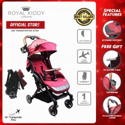 Royal Kiddy London Air Transporter Xtra Red (Light Weight Stroller)