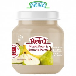 Heinz Mixed Pear & Banana Puree 6m+ (110g)