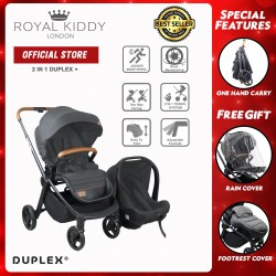Royal Kiddy London 2 in 1 Duplex Plus (Grey)