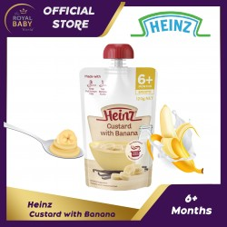 Heinz Custard with Banana 6m+ (120g)