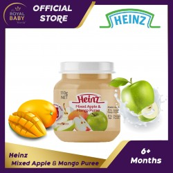 Heinz Mixed Apple & Mango Puree 6m+ (110g)