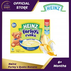 Heinz Farley's Rusks Cereal in a Rusk 6+ Months Banana (120g)