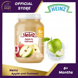 Heinz Apple &  Oatmeal 6m+ (170g)