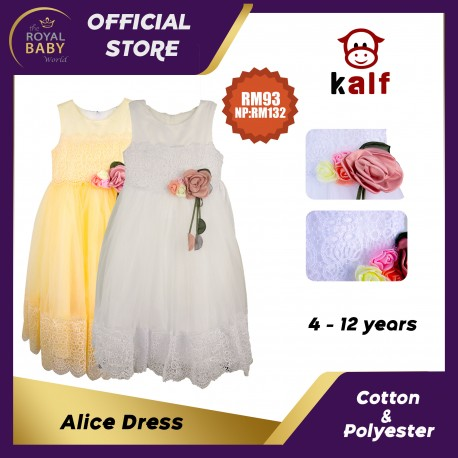 Alice Dress Girl Dress (Fit from 4 up to 12 years old)