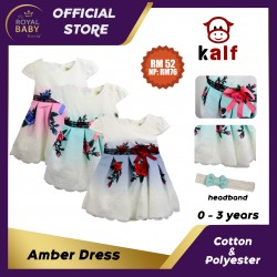 Amber Dress Baby Dress (Fit from newborn up to 3 years old)