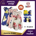 Jasmine Girl Dress (Fit from 4 to 12 years old)