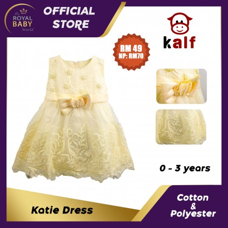 Katie Baby Dress (Fit from newborn up to 3 years old)