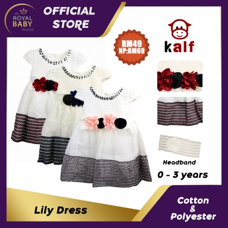 Lily Girl Dress (Fit from 2 to 6 years old)