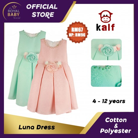 Luna Girl Dress (Fit from 4 to 12 years old)