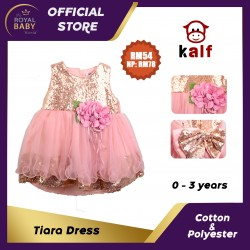 Tiara Baby Girl Dress (Fit from 6 months up to 3 years old)