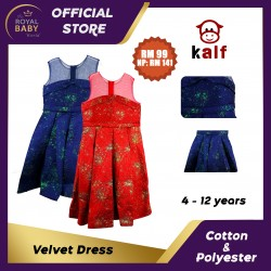 Velvet Girl Dress (Fit from 4 to 12 years old)