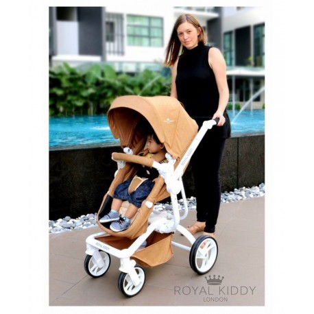 653ce357ed4acb Royal Kiddy London 3 in 1 The Majestic Stroller (Brown)