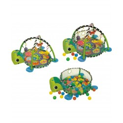 Infantino 3 in 1 Playmate Turtle with 30 balls and soft toys.