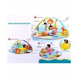 Royal Baby World Smart Baby Deluxe Play Gym