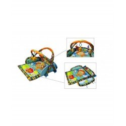Royal Baby World Happy Space Blue Strawberry Combo Play Gym