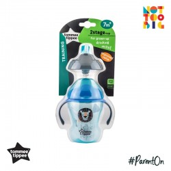 Tommee Tippee 2 Stage Easy Drink 230ml (Blue)