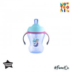 Tommee Tippee Easy Drink Straw Cup 9m+ 230ml (Purple)