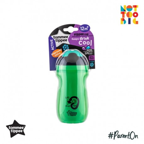 Tommee Tippee Insulated Sipper Cup 260ml 12m+ (Green)