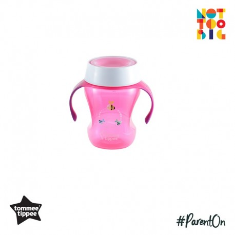 Tommee Tippee Meal Time Trainer Cup 230ml (9m+) - Pink